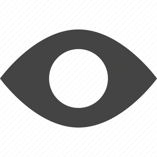 design, enable, eye, graphic, interface, show, track, view, watch icon