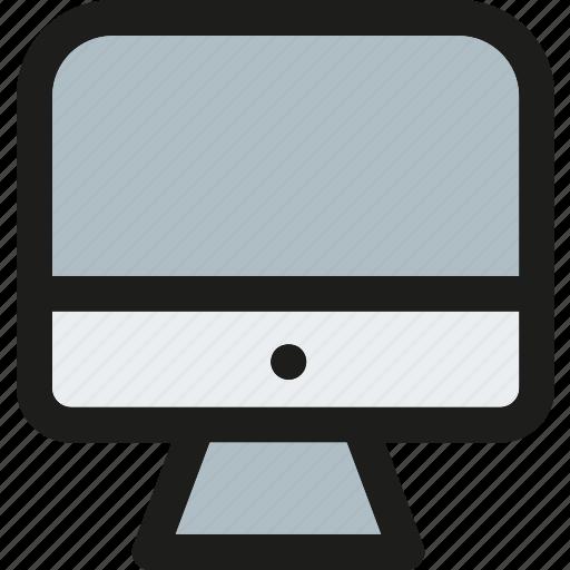computer, desktop, device, monitor, pc, screen, technology icon