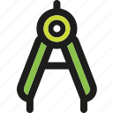 compass, design, drawing, geometry, graphic, tool, tools