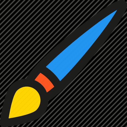 art, brush, color, creative, design, draw, tool icon