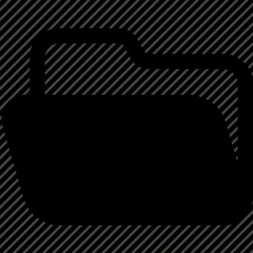 computer, data, directory, file, folder, open, storage icon