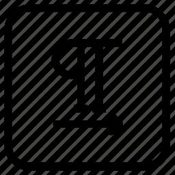 move, paragraph icon