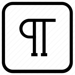 align, paragraph icon