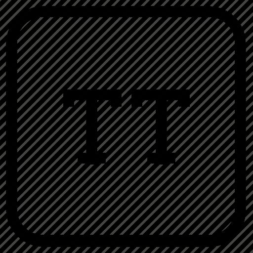 alphabet, small, text icon
