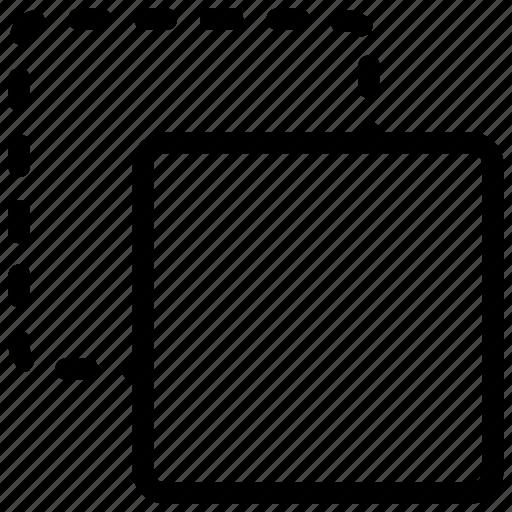 color, stroke icon