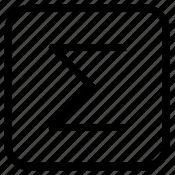 design, enter, symbols icon
