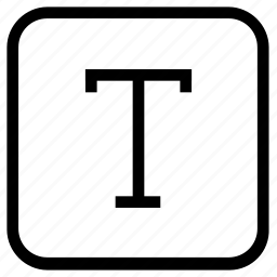capital, text icon