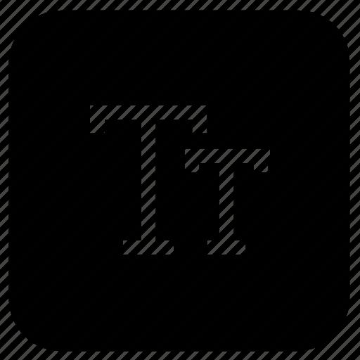 capital, font icon
