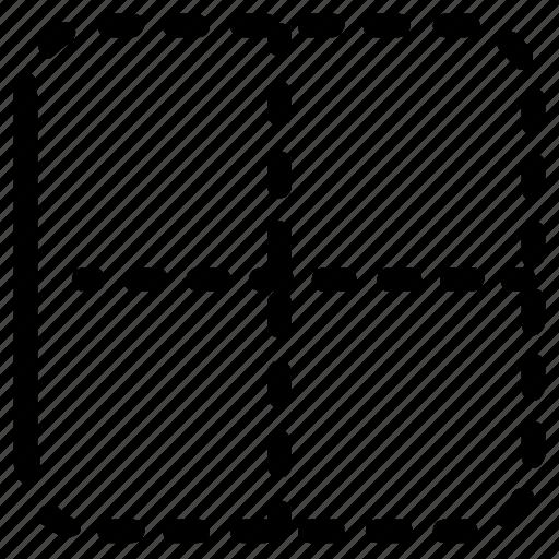 Excel, left, border icon - Download on Iconfinder