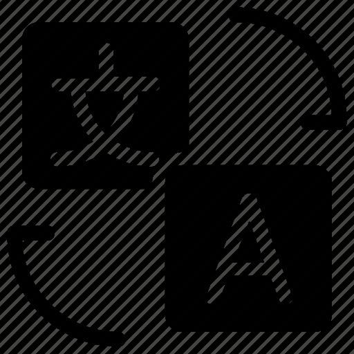 language, translate, translation icon