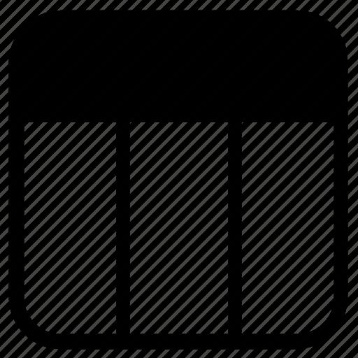 list, spreadsheet icon