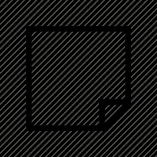 design, graphic, layer, note icon