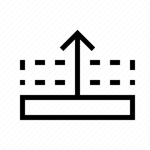 arrange, design, forward, graphic, layer, move icon