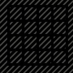 canvas, design, editor, grid, show icon