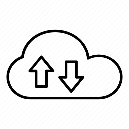 cloud, cloud computing, data storage, download, downloading, tools, uploading icon