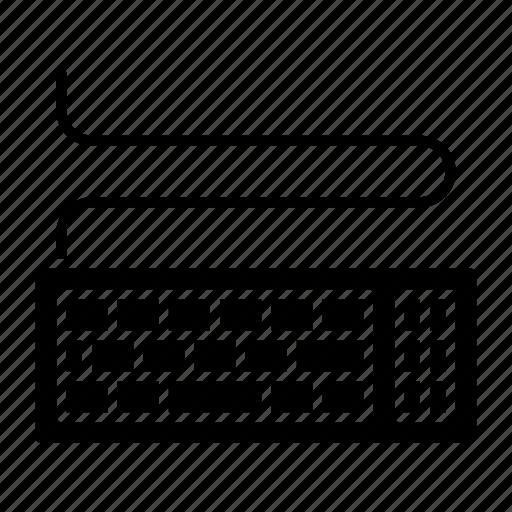 computing, electronic, keyboard, keys, technology icon