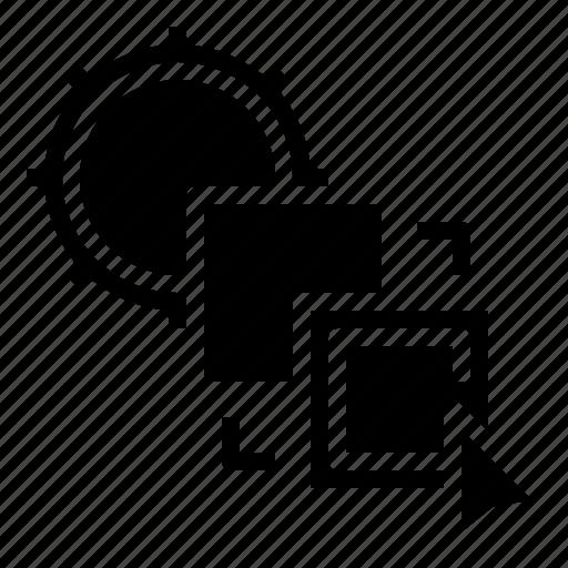 art, contour, design, edit, graphic, tools icon