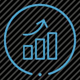 chart, graph, profit, report icon
