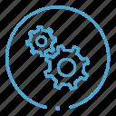 gears, options, settings, tools