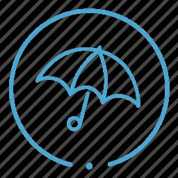 insurance, security, umbrella icon