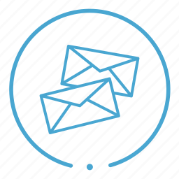 email, messages, notifications icon
