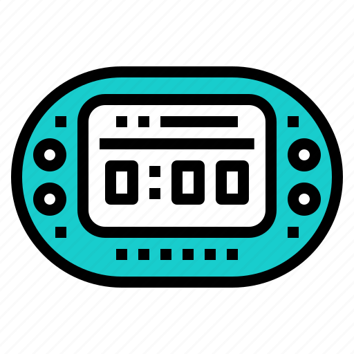 clock, deadline, digital, schedule, time icon