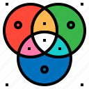 cmyk, color, mode, program, rgb icon