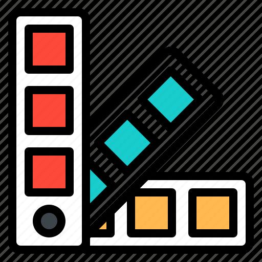 code, color, design, pantone, tool icon