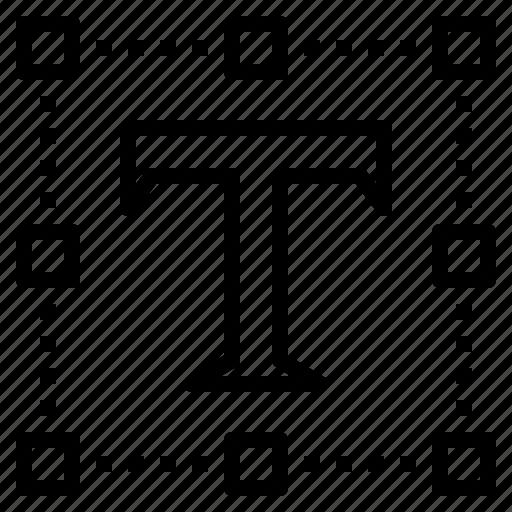designer, font, path, program, text icon