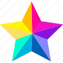 achievement, award, badge, favorites, rate, star, toolbar icon