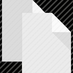 copy, documents, duplicate, files, replicate, reproduce icon