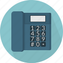buttons, communication, dial phone, display, equipment, technology, telephone icon