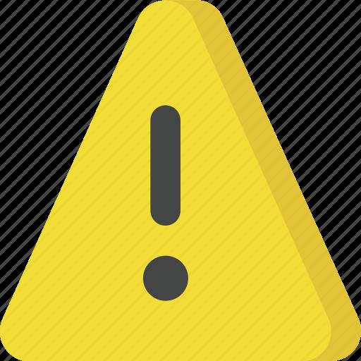 alert, attention, danger, error, interface, notice, warning icon