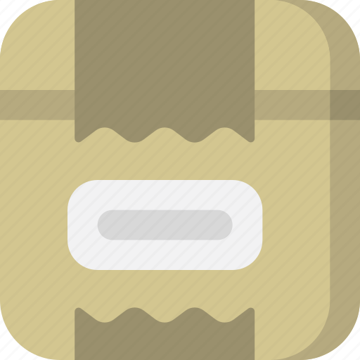 archive, box, files, interface, package, packaging, storage icon