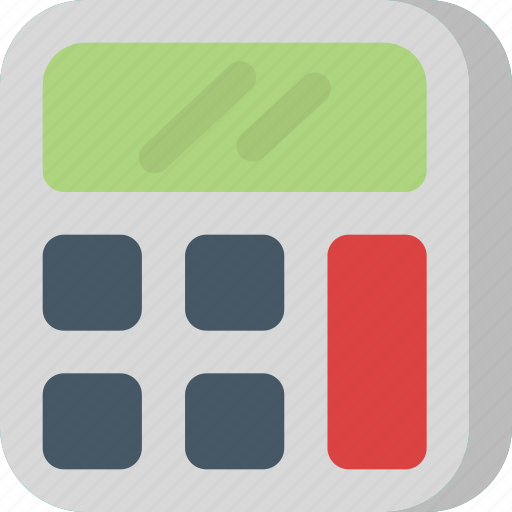 budget, calculate, calculator, interface, math, money, numbers icon