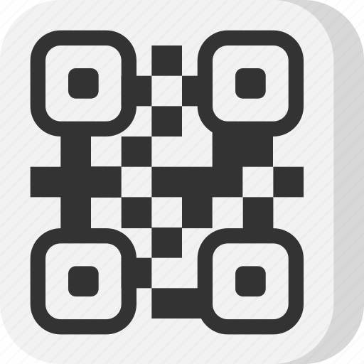 code, interface, multimedia, object, qr code, scan, scanner icon