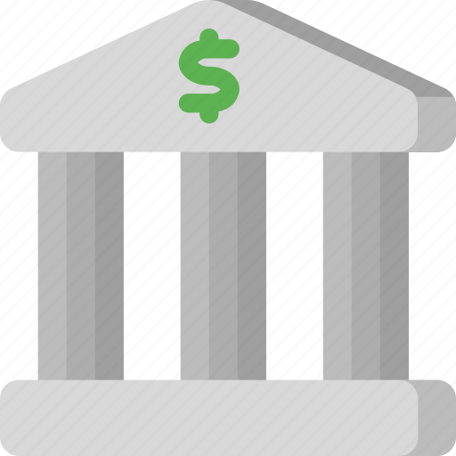 bank, business, finance, money, shopping, store, temple icon