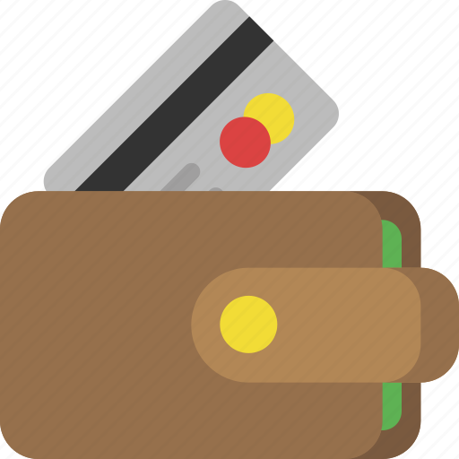 business, credit card, finance, interface, money, shopping, wallet icon