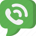 bubble, call, conversation, interface, phone, phone call, telephone icon