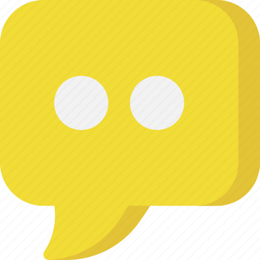 bubble, chat, comment, communication, message, sms, text icon