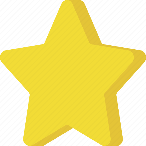bookmark, favorite, interface, rate, rating, shape, star icon