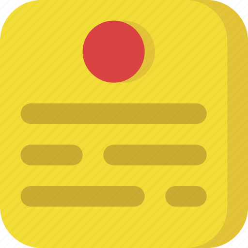 documents, files, interface, note, notes, paper, post it icon