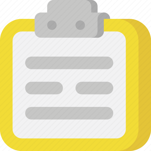documents, files, interface, note, notes, post it, schedule icon