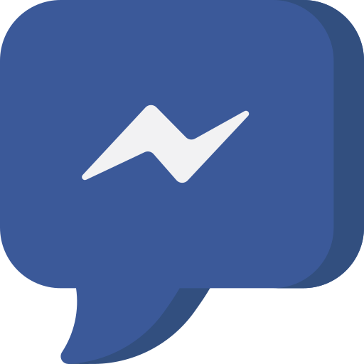 bubble, chat, communication, facebook, message, messenger, social network icon