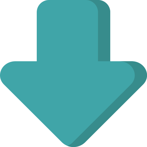 arrow, down, download, file, import, interface, save icon
