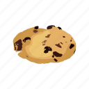 biscuit, chocolate, cookie, dessert, food, snack, sweet icon