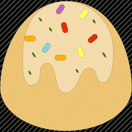 candy, dessert, italian sweets, marzipan icon