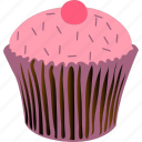 baked, cupcake, dessert, muffin icon