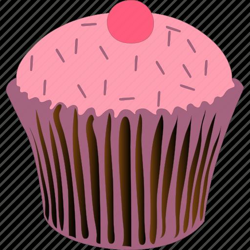 baked, cupcake, dessert, muffin icon