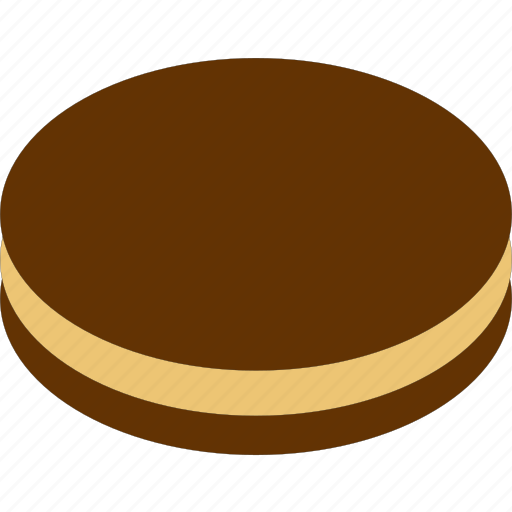 bakery food, biscuit, chocolate, cookies icon